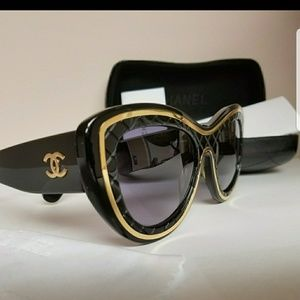Lightly used authentic Chanel sunglasses